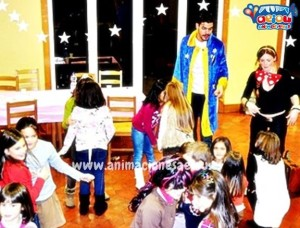hire children's party entertainers magicians
